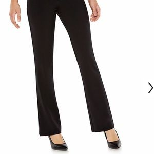 Candies bootcut black dress pants size 11